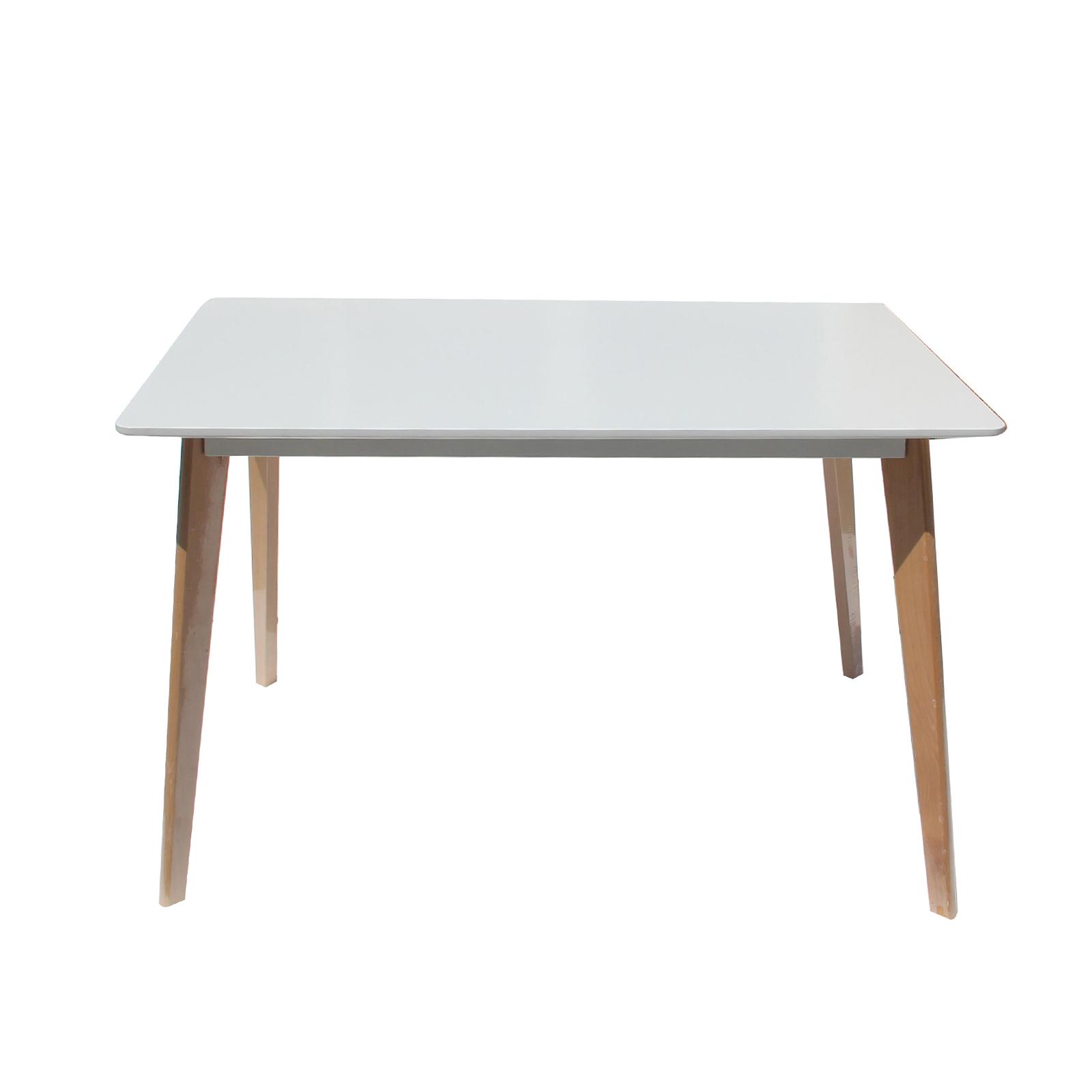Replica eames dsw city dining table white designer kitchen matte medium ebay - Replica eames dining table ...