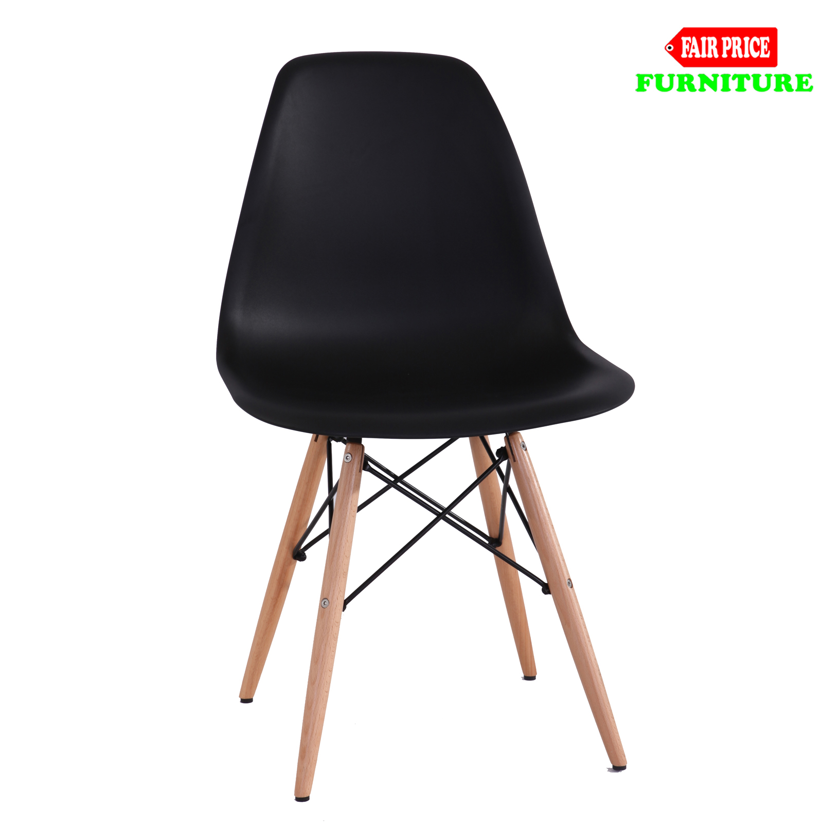 4 x retro replica eames chick dsw dining chairs office for Eames dsw replica