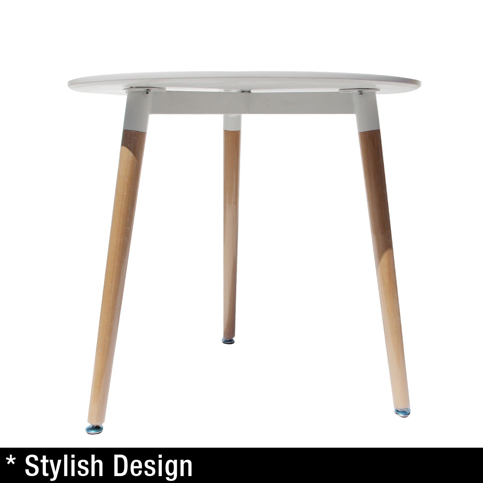 Replica eames dsw city dining table white designer kitchen matte round ebay - Replica eames dining table ...