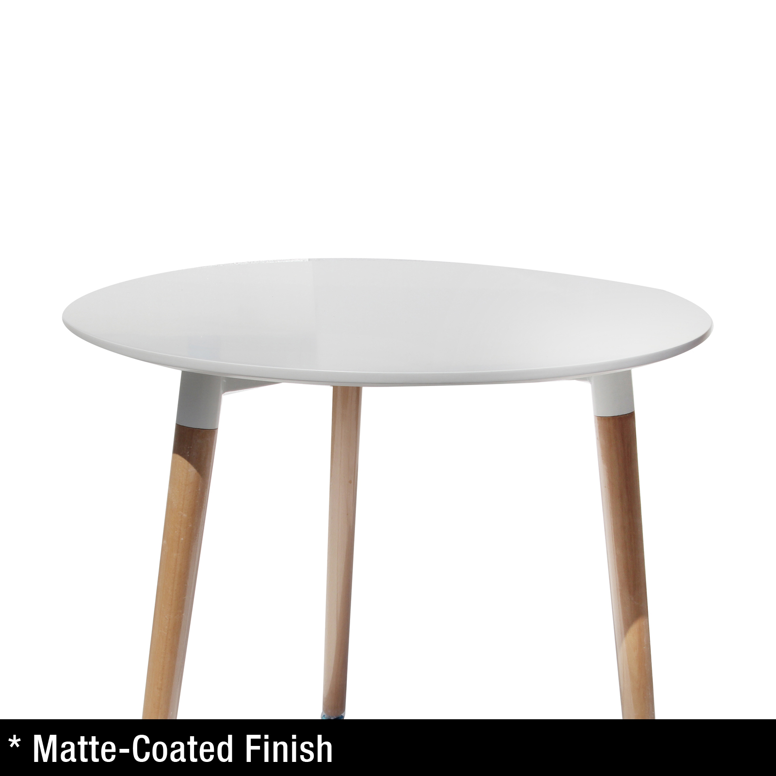 Replica Eames DSW City Dining Table White Designer Kitchen  : Round Table 04 from www.ebay.com.au size 1600 x 1600 jpeg 258kB