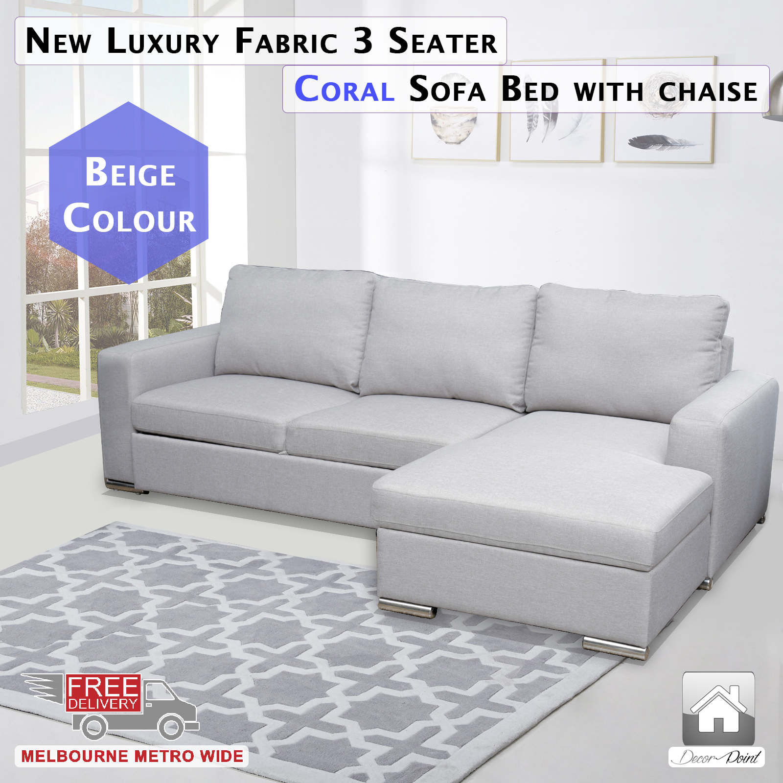 3 seater sofa bed with chaise 28 images concord fabric for 5 seater sofa with chaise