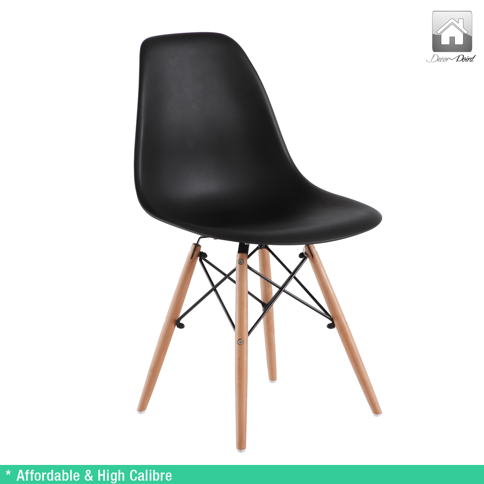 City small dining table 4 x retro replica eames chick for Table eames dsw