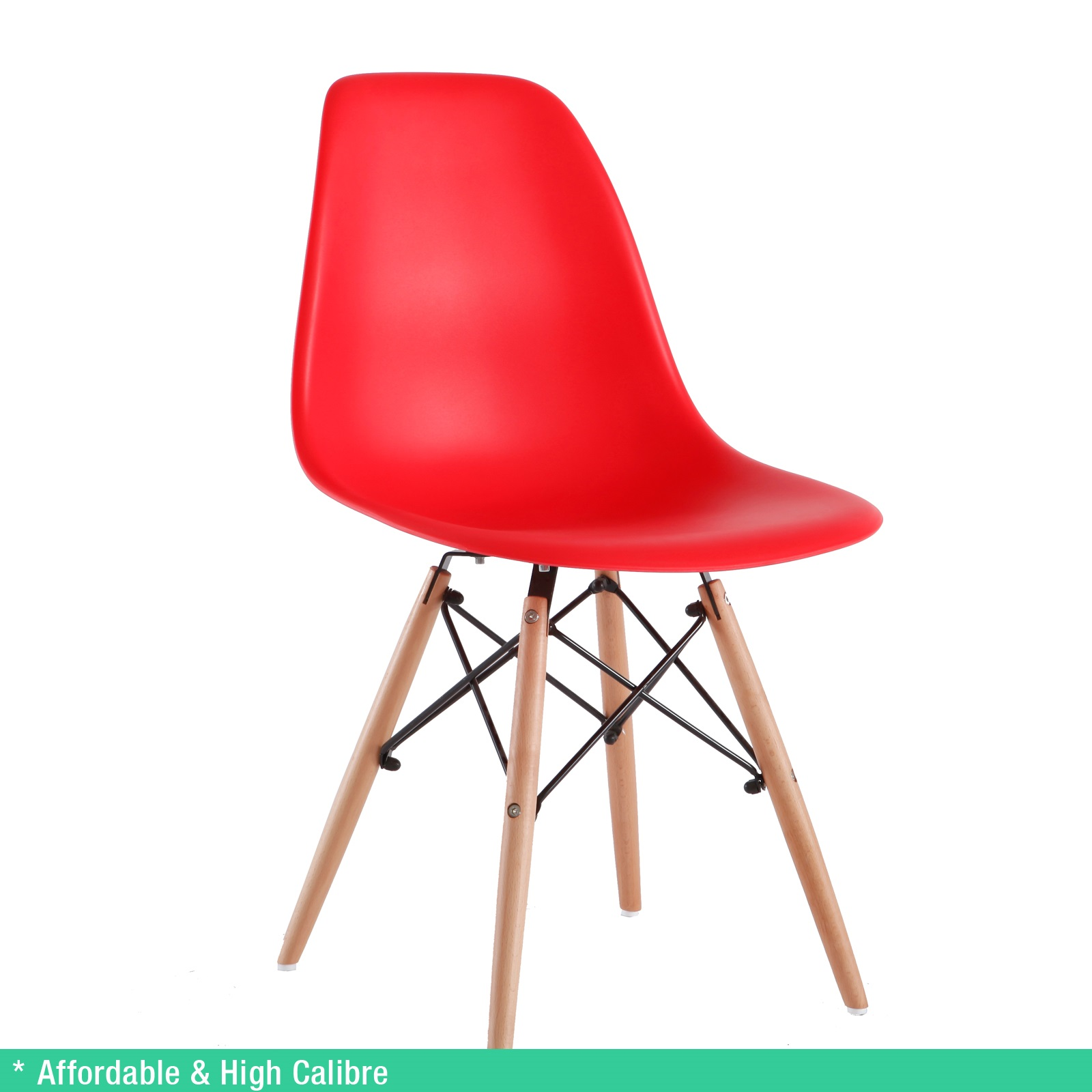 8 x Retro Replica Eames Chick DSW Dining Chairs Office  : Eames Chick Red 01 from www.ebay.com.au size 1600 x 1600 jpeg 418kB