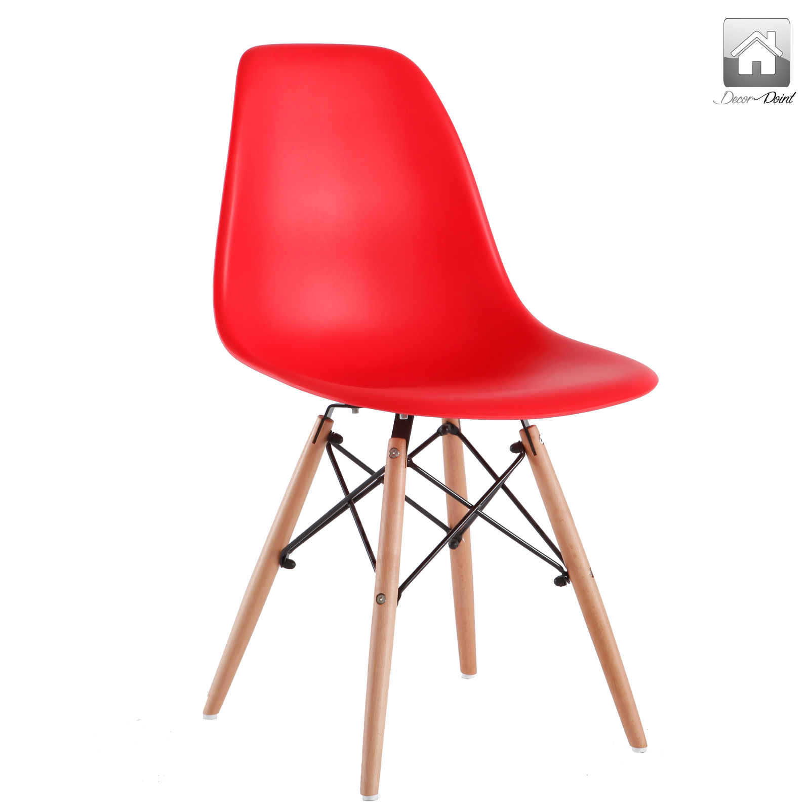 12 x retro replica eames chick dsw dining chairs office for Eames dsw replica