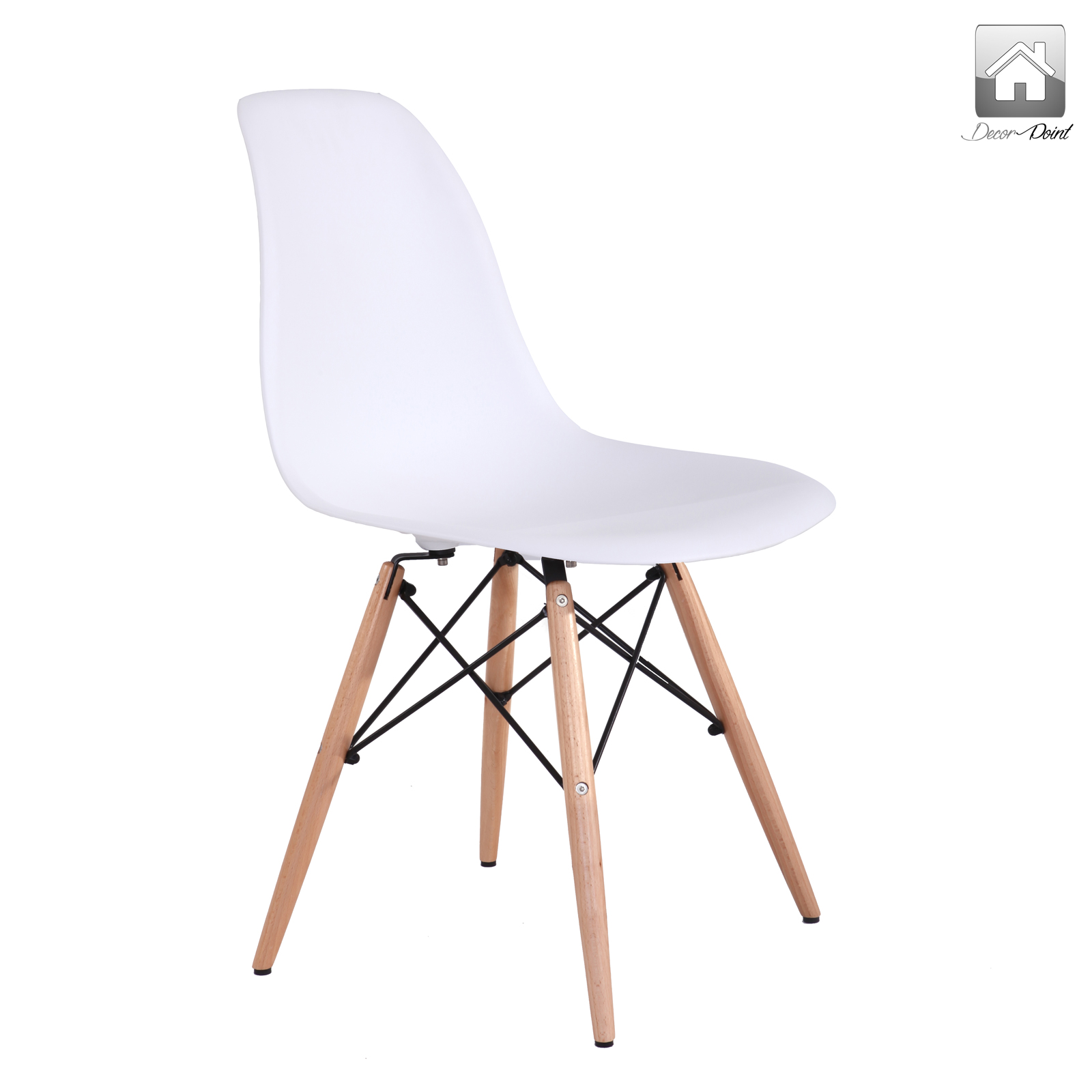 12 X Retro Replica Eames Chick Dsw Dining Chairs Office  : Eames Chick White 06 from www.50han.com size 1600 x 1600 jpeg 268kB