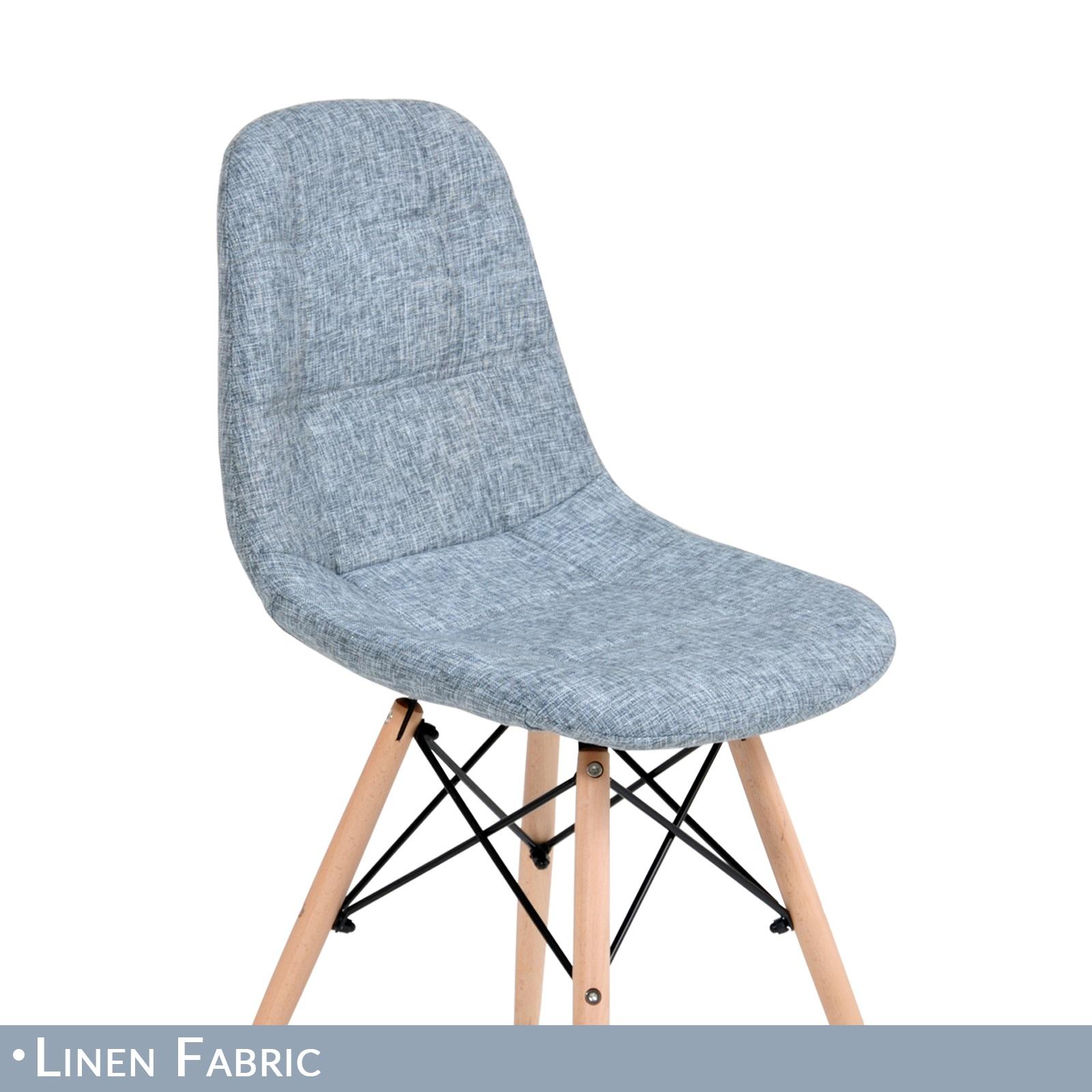 12 x Replica Eames Ellen Linen Fabric Dining Chair Grey  : Eames Ellen Grey 04 from www.ebay.com.au size 1600 x 1600 jpeg 600kB
