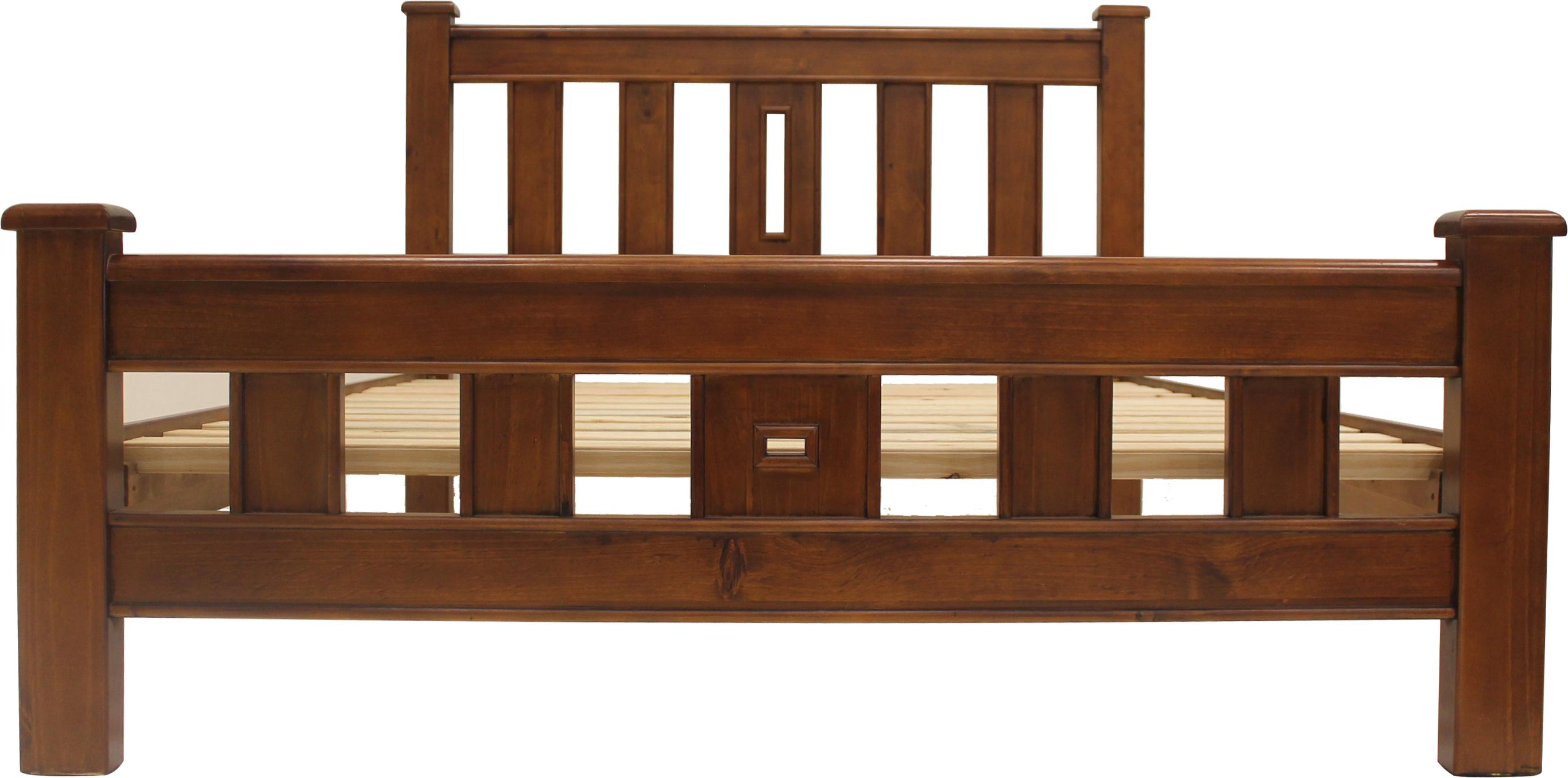 Olee Sleep 18inch Tall Round Edge Steel Slat Bed Frame S