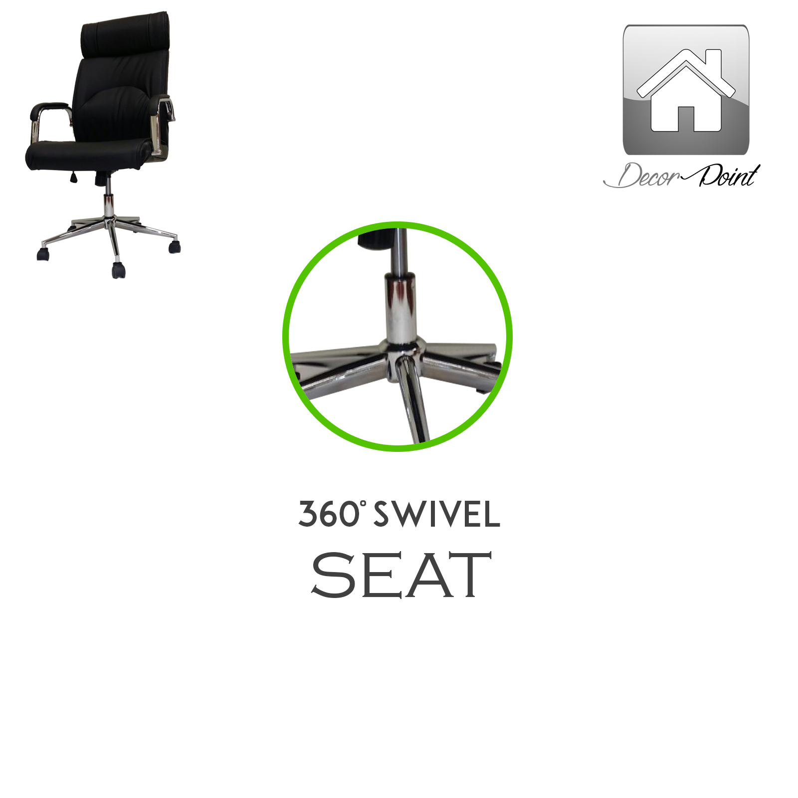 premium executive black office chair ebay