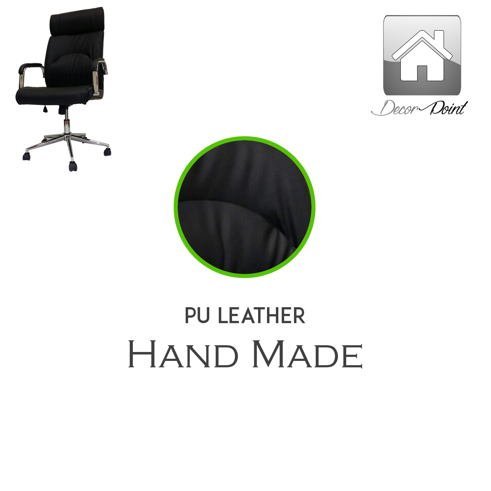 details about premium executive black office chair