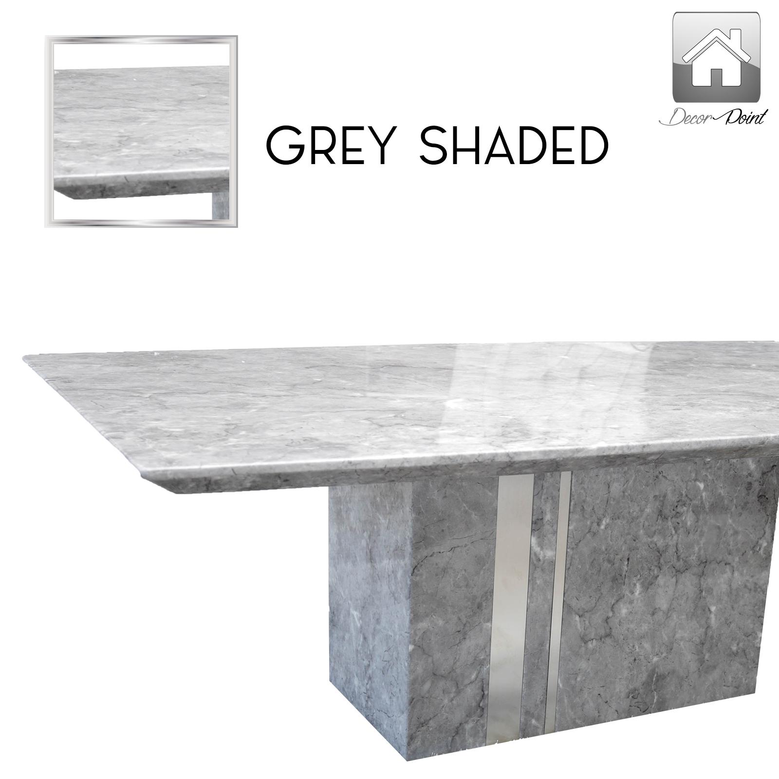 Marble Coffee Table Ebay: New Luxurious Grey Shaded High Gloss Marble Veneer Coffee